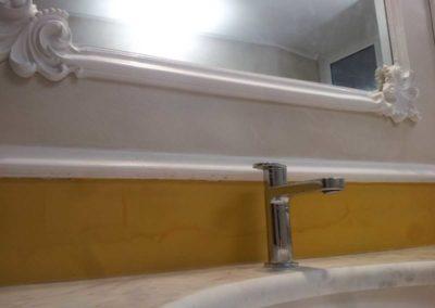 Bagni rivestiti con resine acriliche